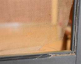 WINDOWS AND PATIO DOORS RE-SCREENED